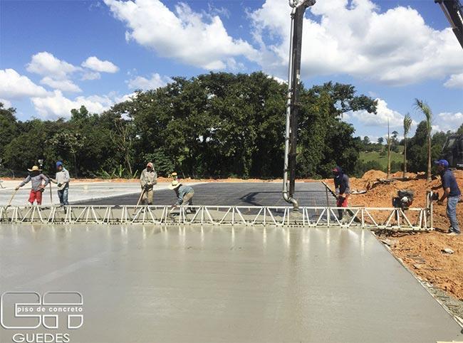 Pavimento de concreto