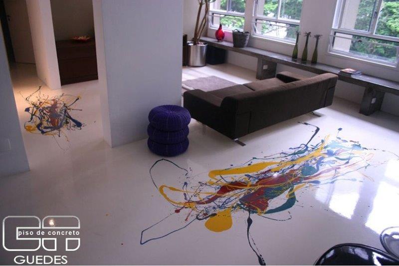 Pintura epóxi piso preço